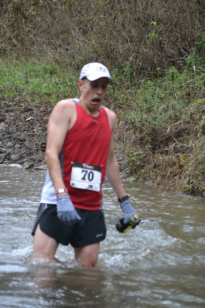 Stream crossing at the Blues Cruise Ultra 50K